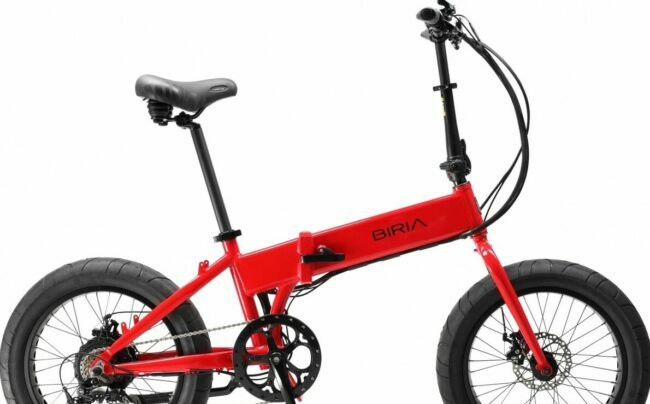 electric folding bike.