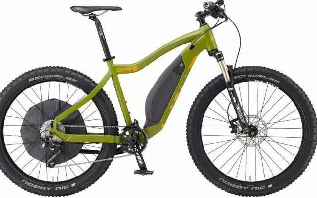 electric mountain bike.