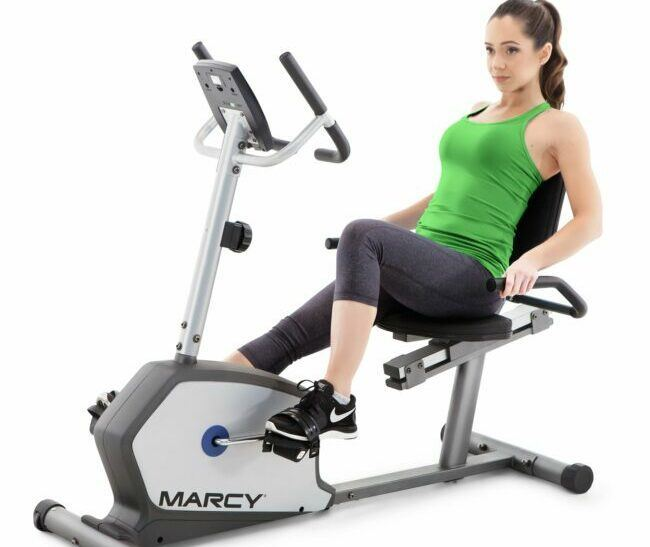 Marcy Magnetic Recumbent Cycle as model #2 Indoor Cycling Bikes sale