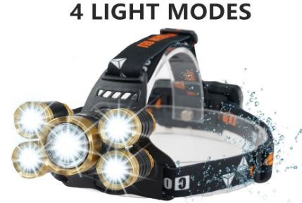 Model 4 headlight is a need for electric bikes long distance riding.