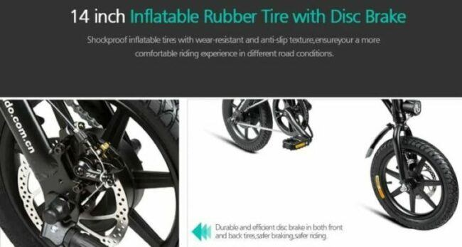 CST Tire and Disc Brake