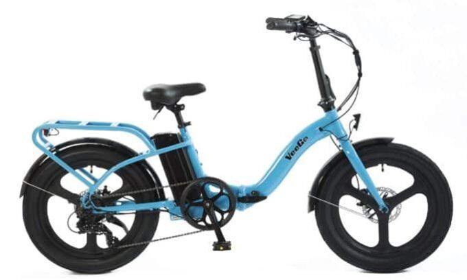 Scoozy VeeGo as model #1 Electric Bikes for Seniors
