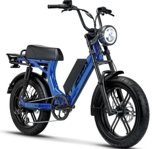 Scorpion moped-styles as model #7 Electric Bikes for Seniors