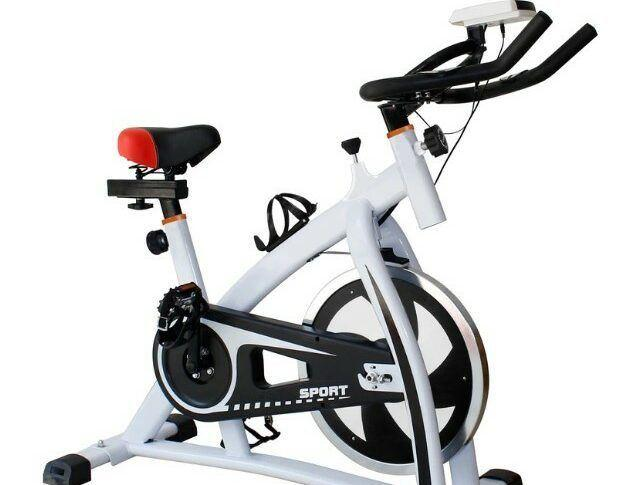 Spin Bike with Flywheel.