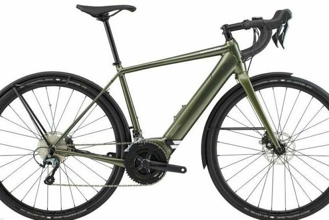 Cannondale Synapse Neo EQ Electric Road Bike 2020 is the Model #3 Cannondale Bosch Electric Bike