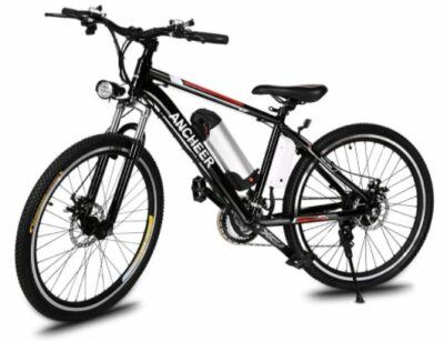 ANCHEER Power Plus Electric Bike for cost comparison with Nakto City Electric Bike.