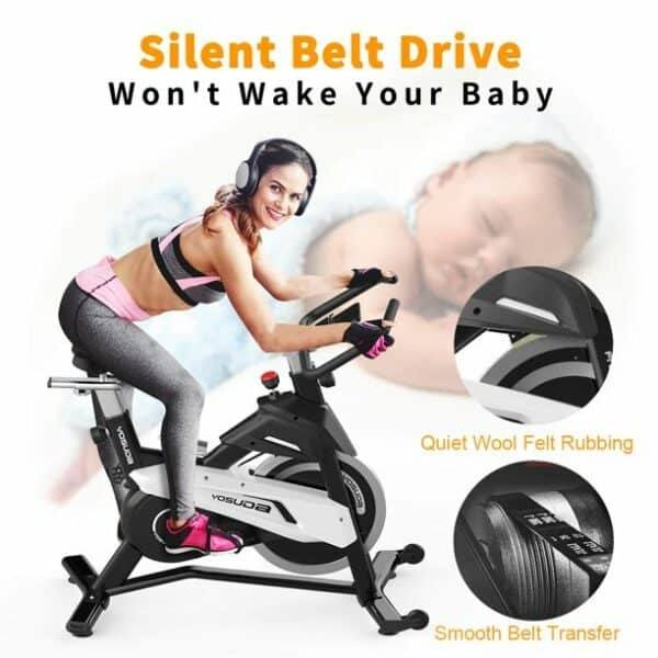 Silent Indoor Cycling Bikes for family use