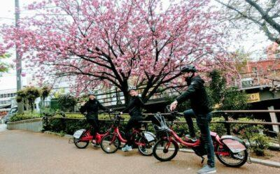 Tokyo Bike Tour as feature image for cheap electric bikes sale.