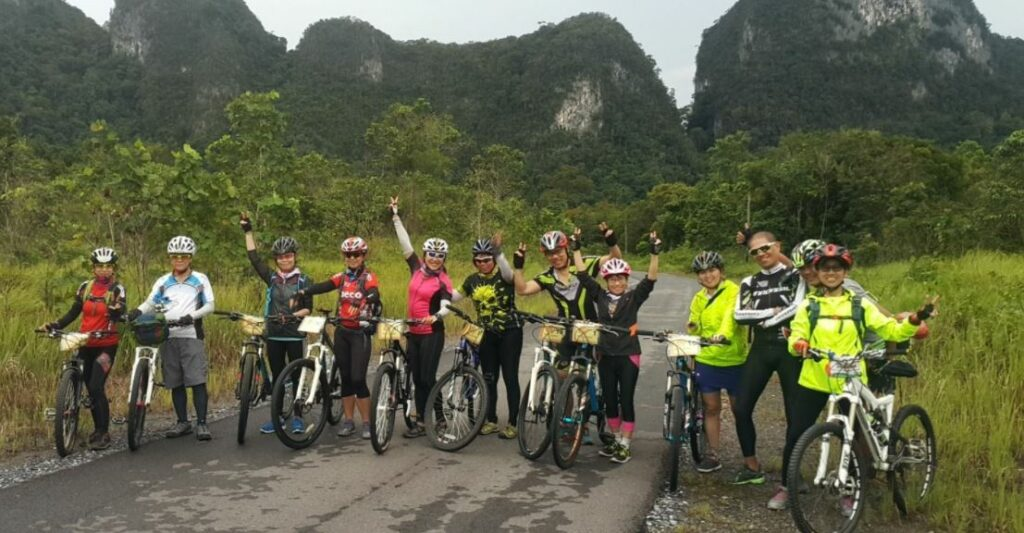 Cycling Routes in Sarawak - Jungle and River Adventure