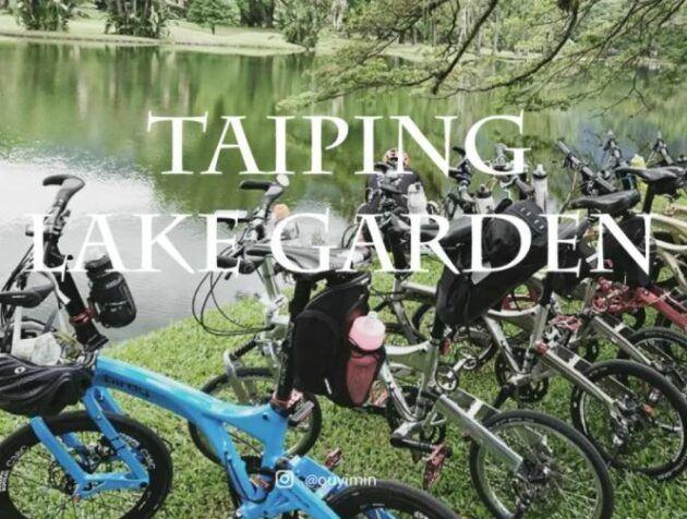 Cycling Routes in Taiping Lake Gardens is the best place for cycling during the weekend or holiday.