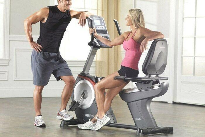 Exercise Recumbent Bike is good for adults to do the workout at home.