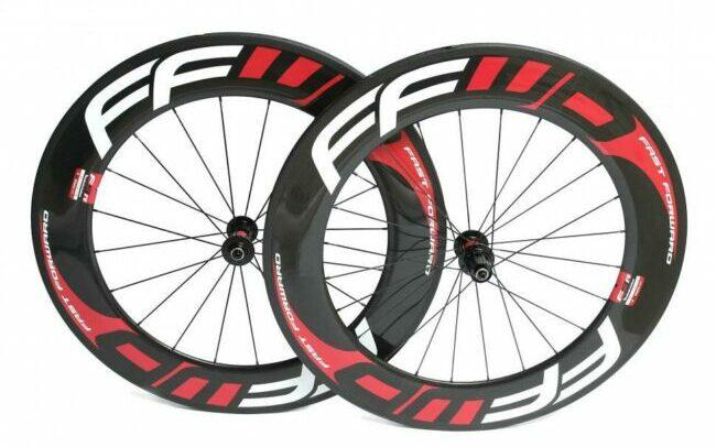Fast FWD F9R wheelset as model #3 clincher wheelset in the market