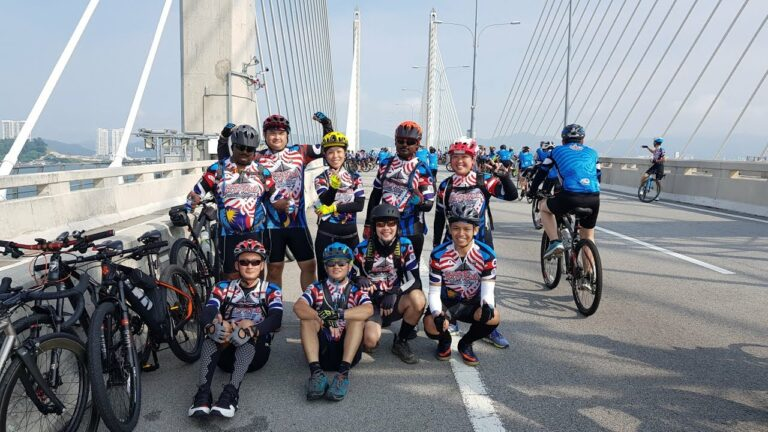 Penang Bridge Ride as feature image for Cycling Routes in Malaysia