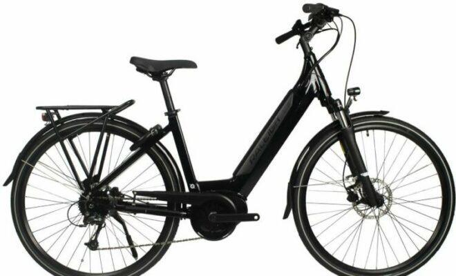 Raleigh Centros 500Wh LowStep/CrossBar Electric Bike is a 100 miles range electric bike