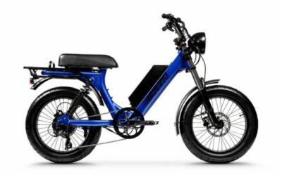 Scorpion Moped Style Electric Bike as model #4 best electric bikes adults
