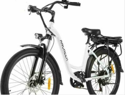 ANCHEER 26 inches Electric City Bike as model #4 best bike for cities.