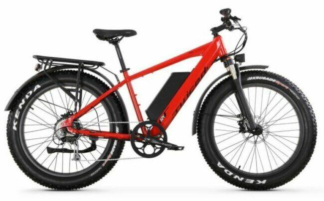 Juiced Bike Rip Current as model #7 electric bikes for work