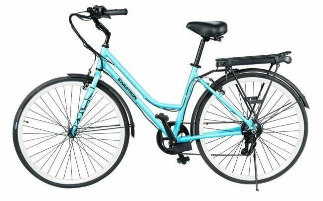 SWAGTRON EB9 Step-through E-bike is the perfect choice for seniors