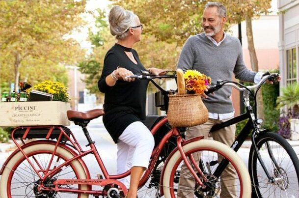 Senior biking as a featured image for post of best gifts for senior parents