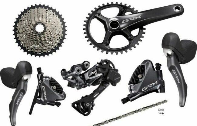 Shimano GRX 810 gravel groupset for the review post
