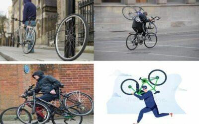 This is how thieves carry away the stolen e-bikes - light weight is key factor