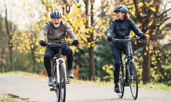 Fun on bikes as the featured image for gigabyke swift electric bike post
